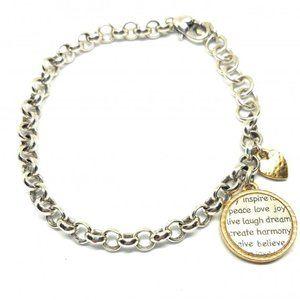 Brighton Inspirational charm Bracelet #1192